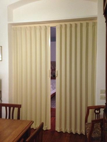 I nostri lavori for Porte a soffietto in legno ikea